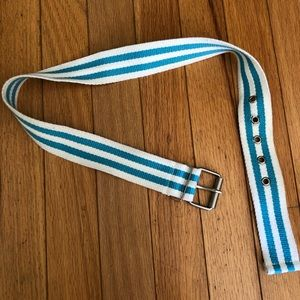 Cute & Beachy Striped Belt